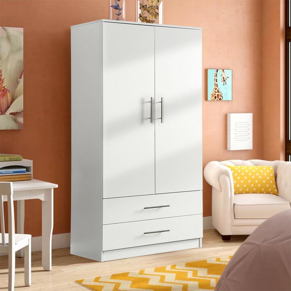 Home Kitchen Bedroom Cupboard Organizer Wooden Storage ...