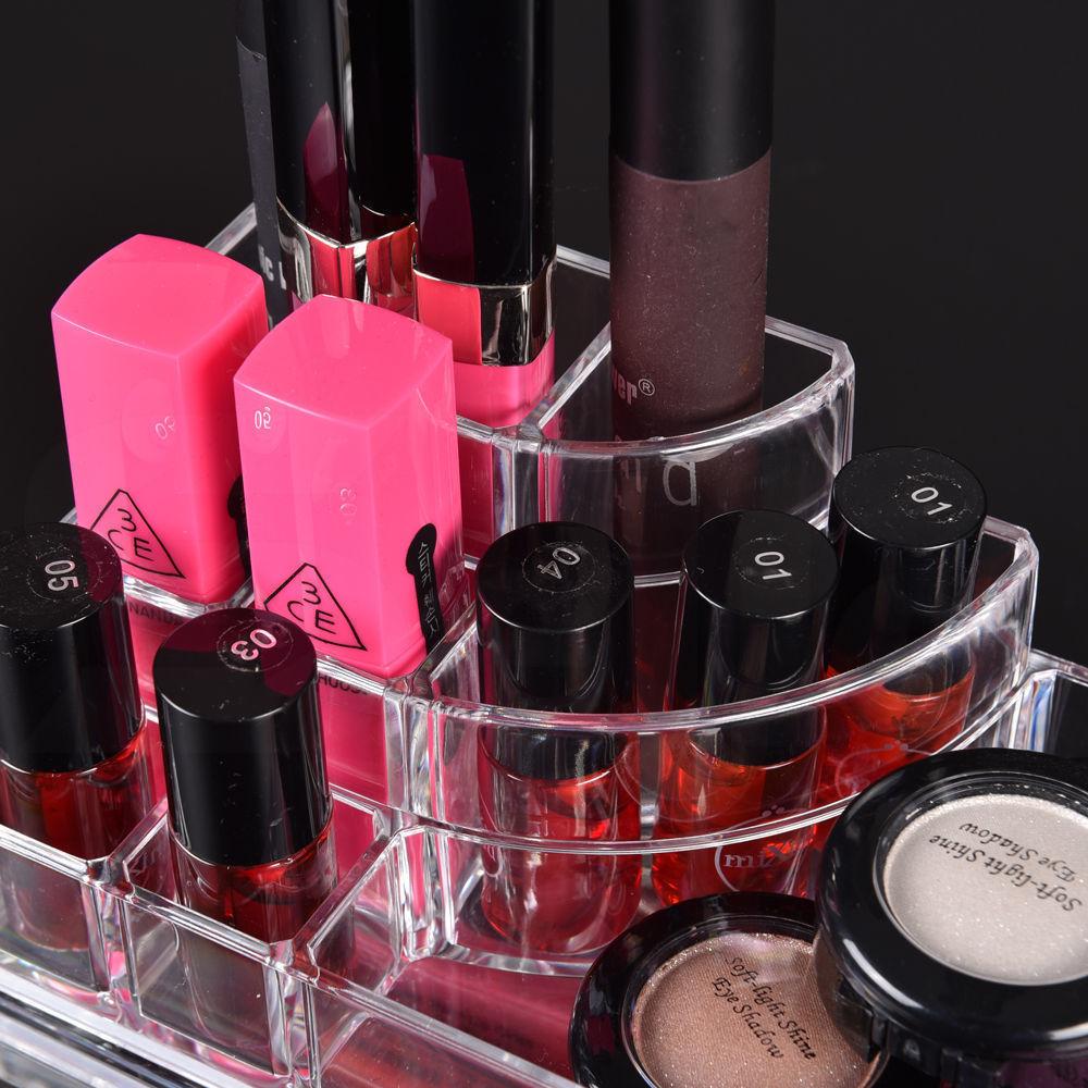 Cosmetic-7-8-9-10-11-Drawer-Makeup-Organizer-Storage-Jewellery-Box-Acrylic thumbnail 81