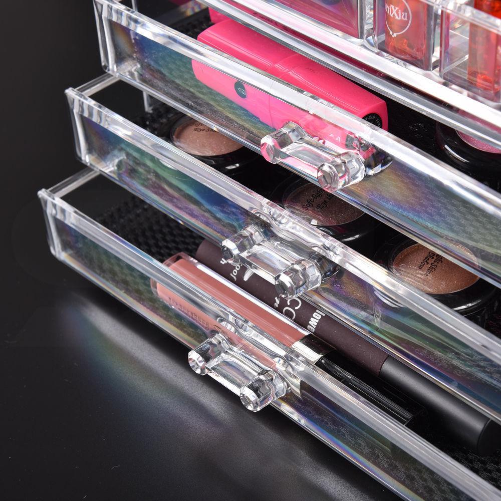 Cosmetic-7-8-9-10-11-Drawer-Makeup-Organizer-Storage-Jewellery-Box-Acrylic thumbnail 17