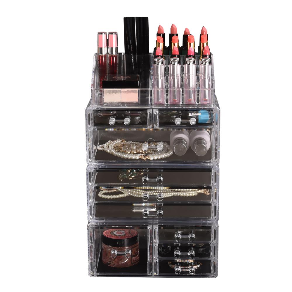 Cosmetic-7-8-9-10-11-Drawer-Makeup-Organizer-Storage-Jewellery-Box-Acrylic thumbnail 31