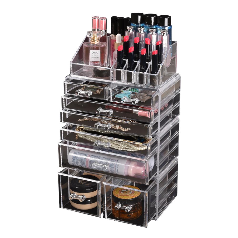 Cosmetic-7-8-9-10-11-Drawer-Makeup-Organizer-Storage-Jewellery-Box-Acrylic thumbnail 64