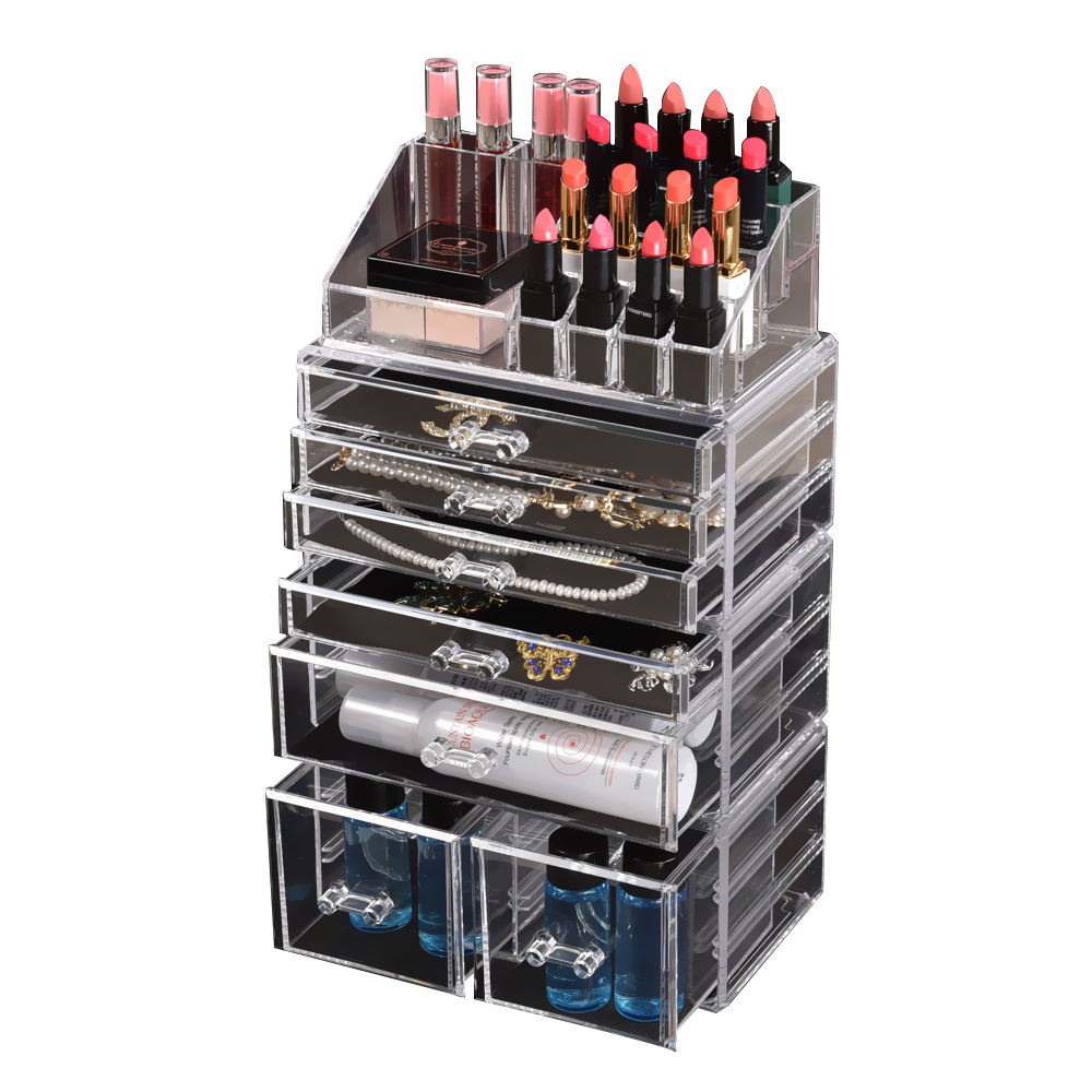 Cosmetic-7-8-9-10-11-Drawer-Makeup-Organizer-Storage-Jewellery-Box-Acrylic thumbnail 42