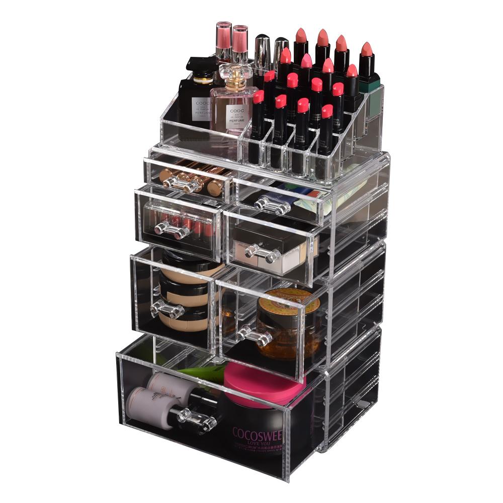 Cosmetic-7-8-9-10-11-Drawer-Makeup-Organizer-Storage-Jewellery-Box-Acrylic thumbnail 53