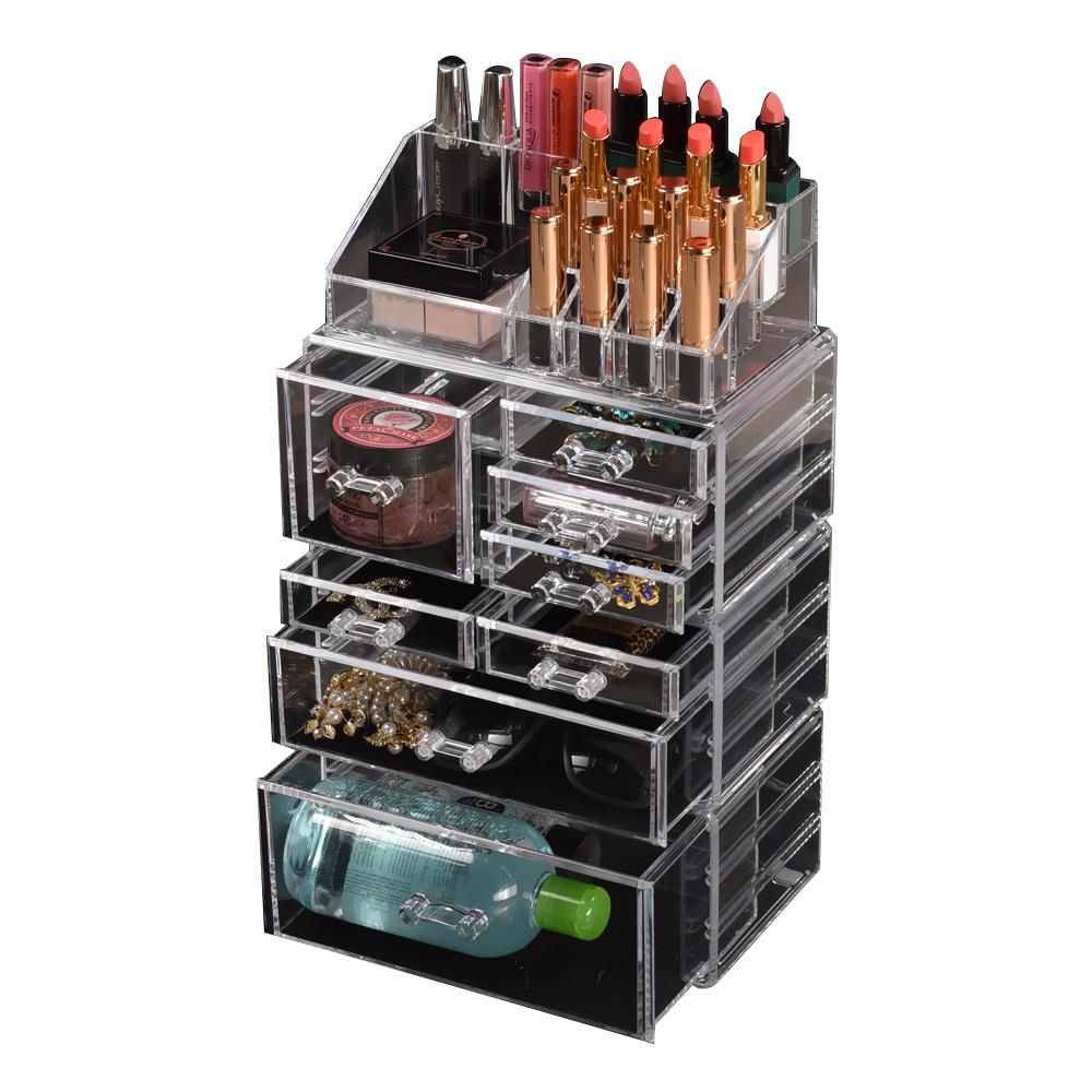 Cosmetic-7-8-9-10-11-Drawer-Makeup-Organizer-Storage-Jewellery-Box-Acrylic thumbnail 75