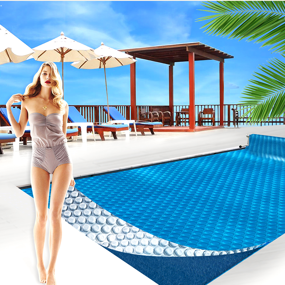 Solar-Swimming-Pool-Cover-500-Micron-Outdoor-Blanket-Isothermal-7-Sizes thumbnail 16