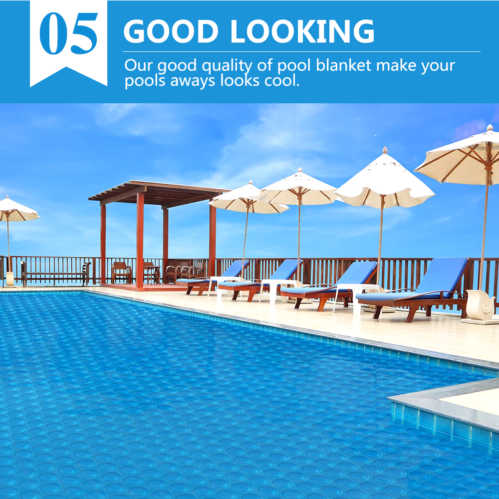 Solar-Swimming-Pool-Cover-500-Micron-Outdoor-Blanket-Isothermal-7-Sizes thumbnail 56