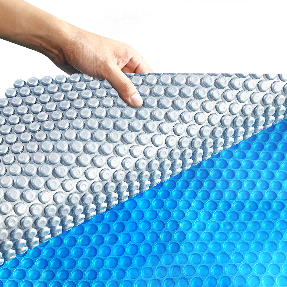 Solar-Swimming-Pool-Cover-500-Micron-Outdoor-Blanket-Isothermal-7-Sizes thumbnail 92
