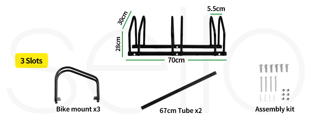 thumbnail 22 - Monvelo 1-6 Bike Stand Bicycle Rack Storage Floor Parking Holder Cycling Stands