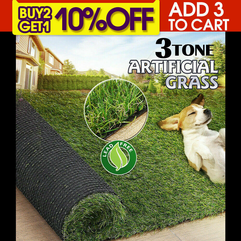 Synthetic-Grass-Turf-Decor-Artificial-Lawn-Fake-Plant-Plastic-Green-Flooring-Mat thumbnail 12