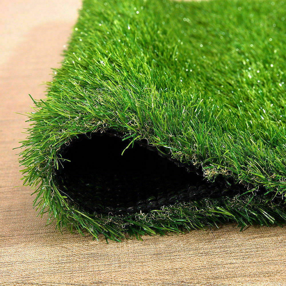 Synthetic-Grass-Turf-Decor-Artificial-Lawn-Fake-Plant-Plastic-Green-Flooring-Mat thumbnail 3