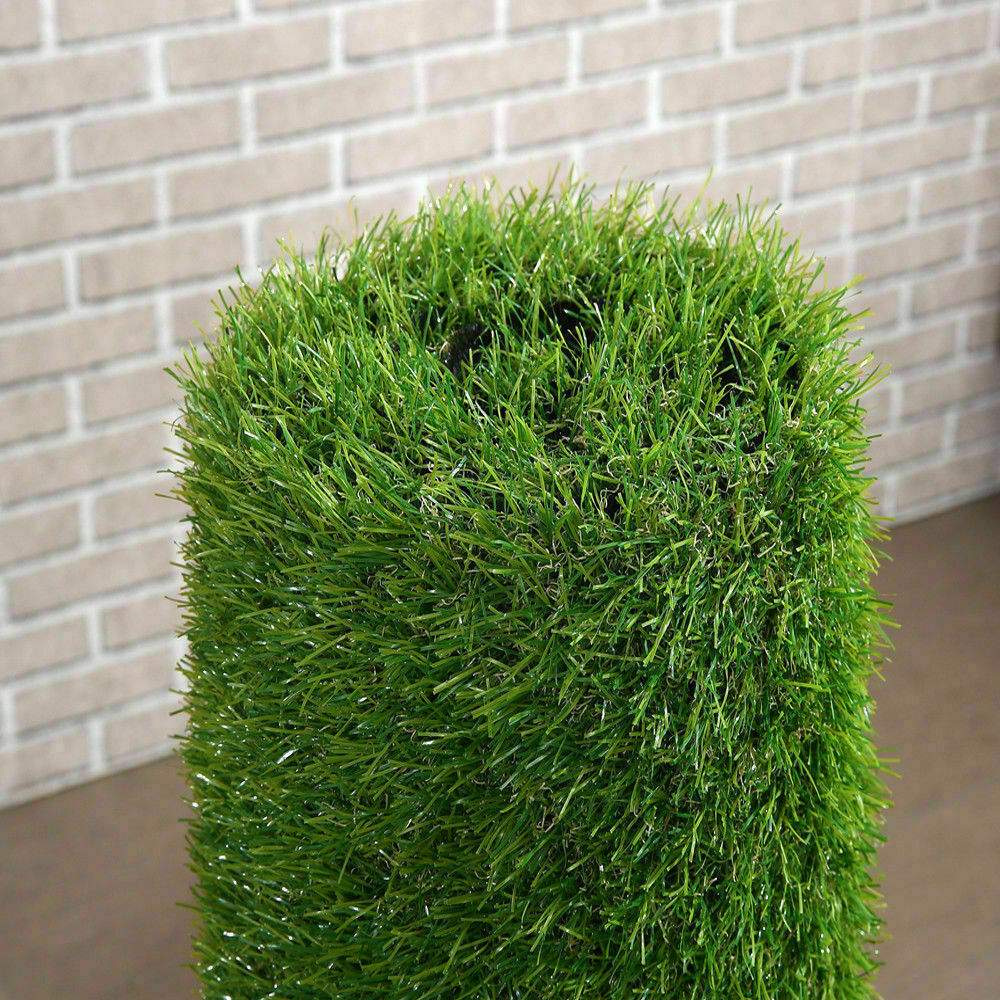 Synthetic-Grass-Turf-Decor-Artificial-Lawn-Fake-Plant-Plastic-Green-Flooring-Mat thumbnail 6