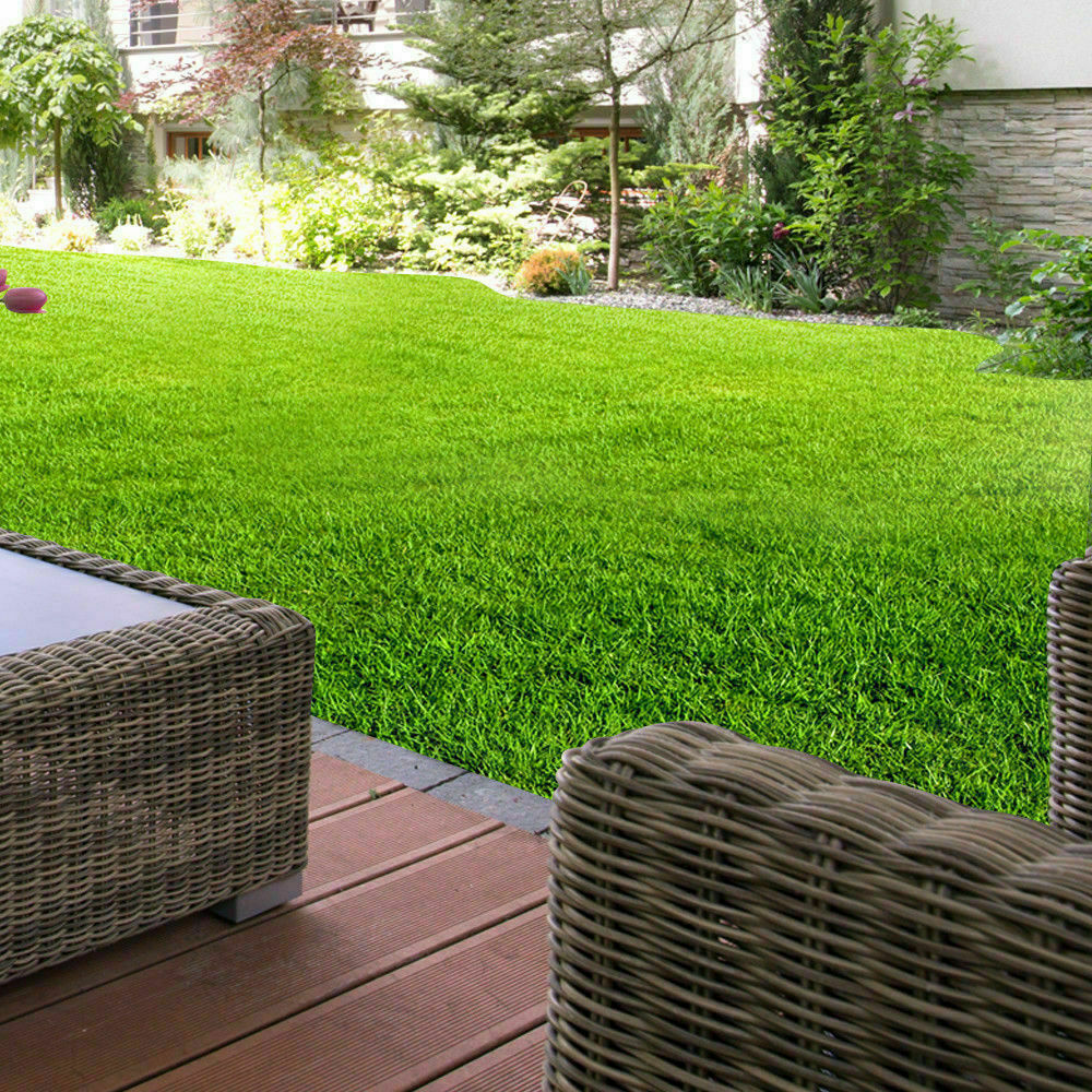 Synthetic-Grass-Turf-Decor-Artificial-Lawn-Fake-Plant-Plastic-Green-Flooring-Mat thumbnail 8