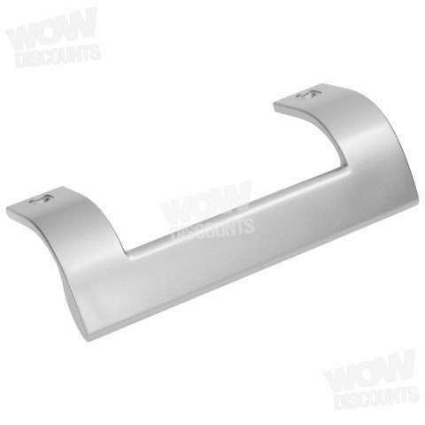 215mm Lower Door Handle white//grey BEKO 4326390500