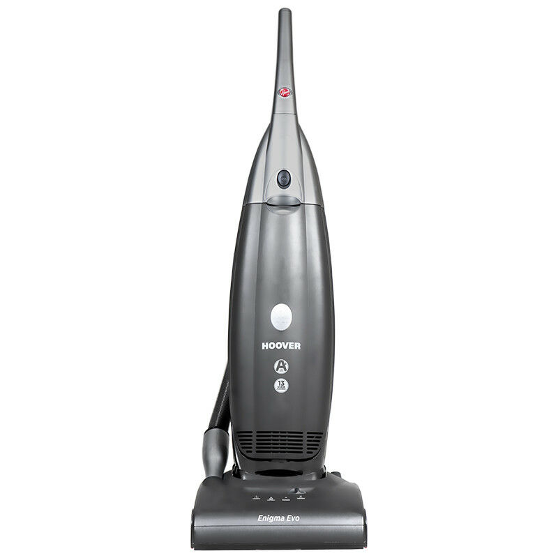 Details about Hoover Enigma PU01IC Bagged Upright Vacuum Cleaner, Grey, 350W, 4.2L