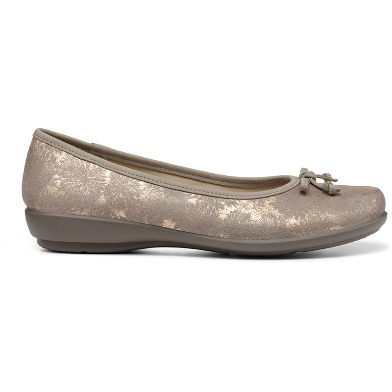 Hotter-Women-039-s-Emmy-Ballerina-Suede-Slip-on-Adult-Flats-Casual-Ballet thumbnail 27