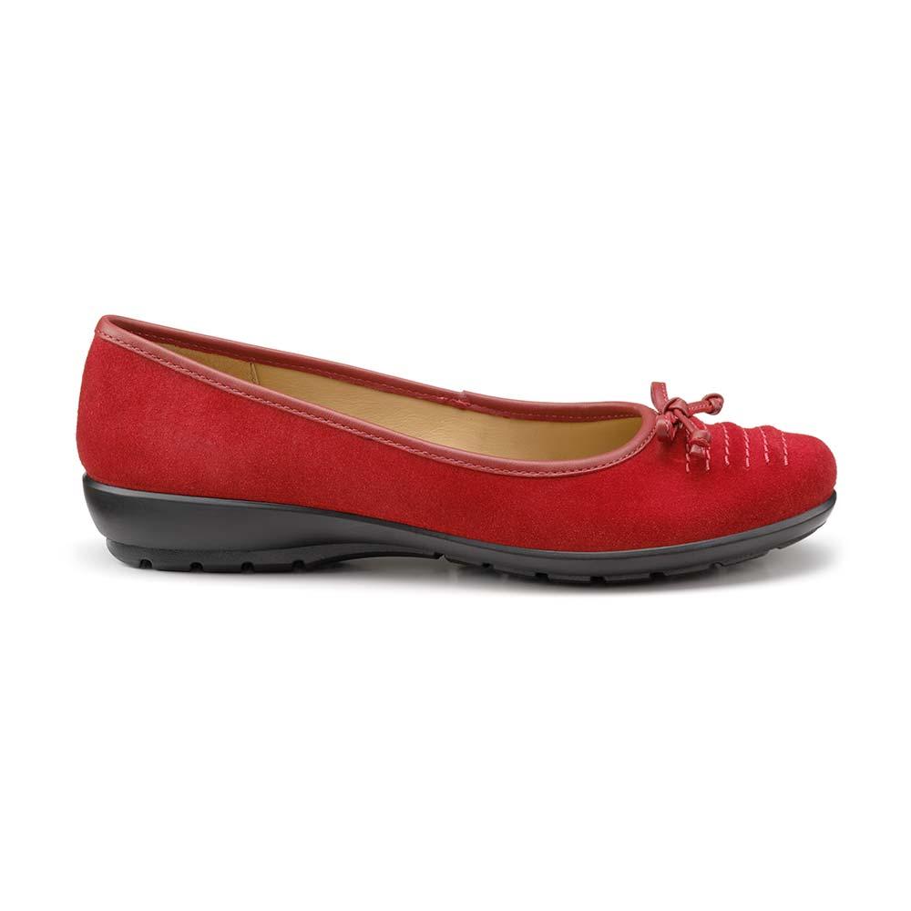 Hotter-Women-039-s-Emmy-Ballerina-Suede-Slip-on-Adult-Flats-Casual-Ballet thumbnail 31