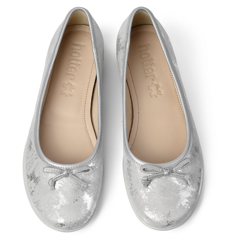 Hotter-Women-039-s-Emmy-Ballerina-Suede-Slip-on-Adult-Flats-Casual-Ballet thumbnail 36