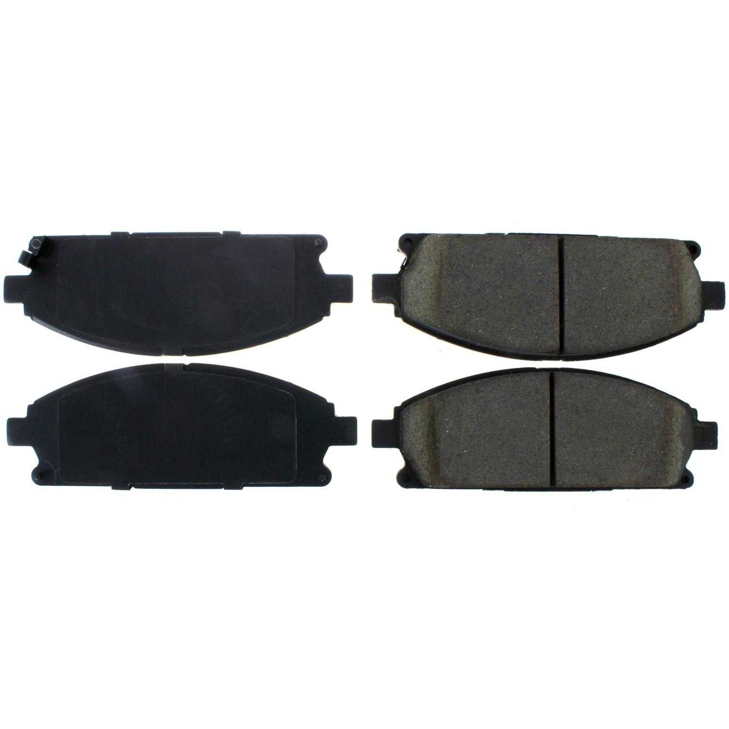 Centric Parts Brake Pads Front Rear For 2003-2006 Acura