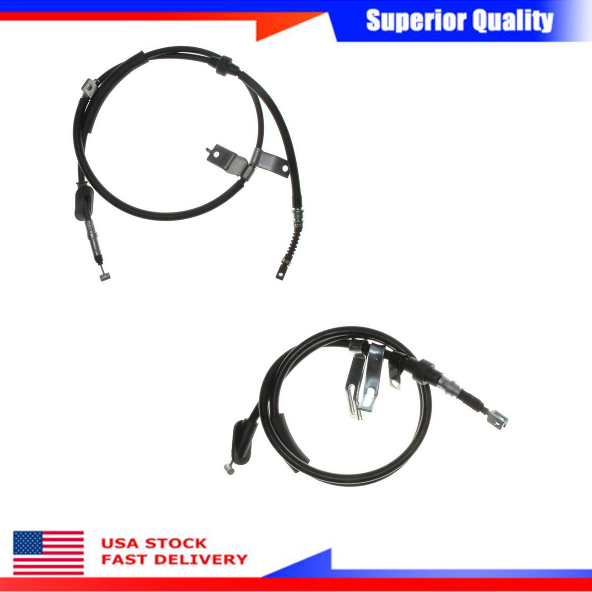 2Pcs Raybestos Parking Brake Cable Set For 1994-1999 Acura
