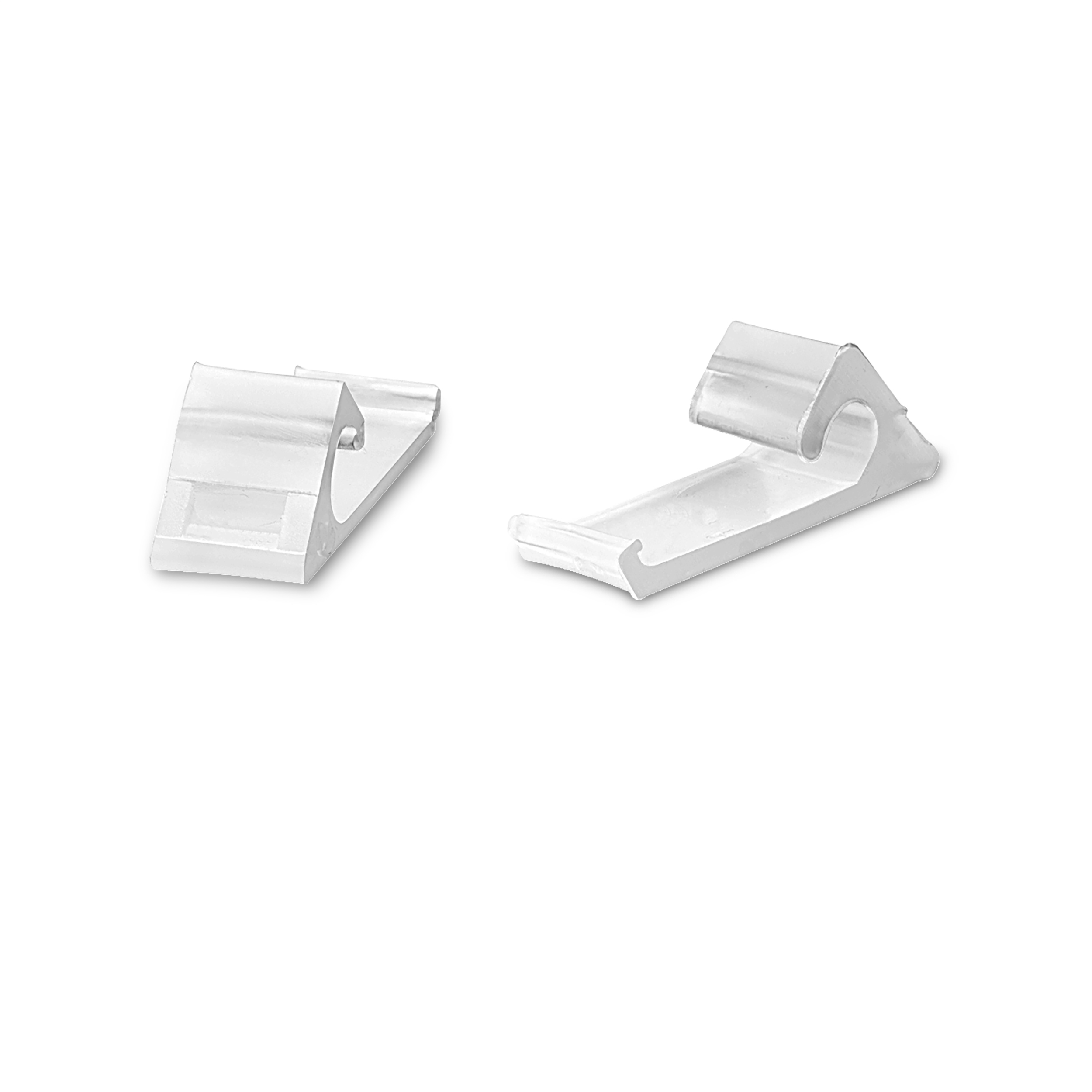 Horizontal Siding Clips For Vinyl Rg6 Cable Snap In Clamp Clip White 50ea Ebay