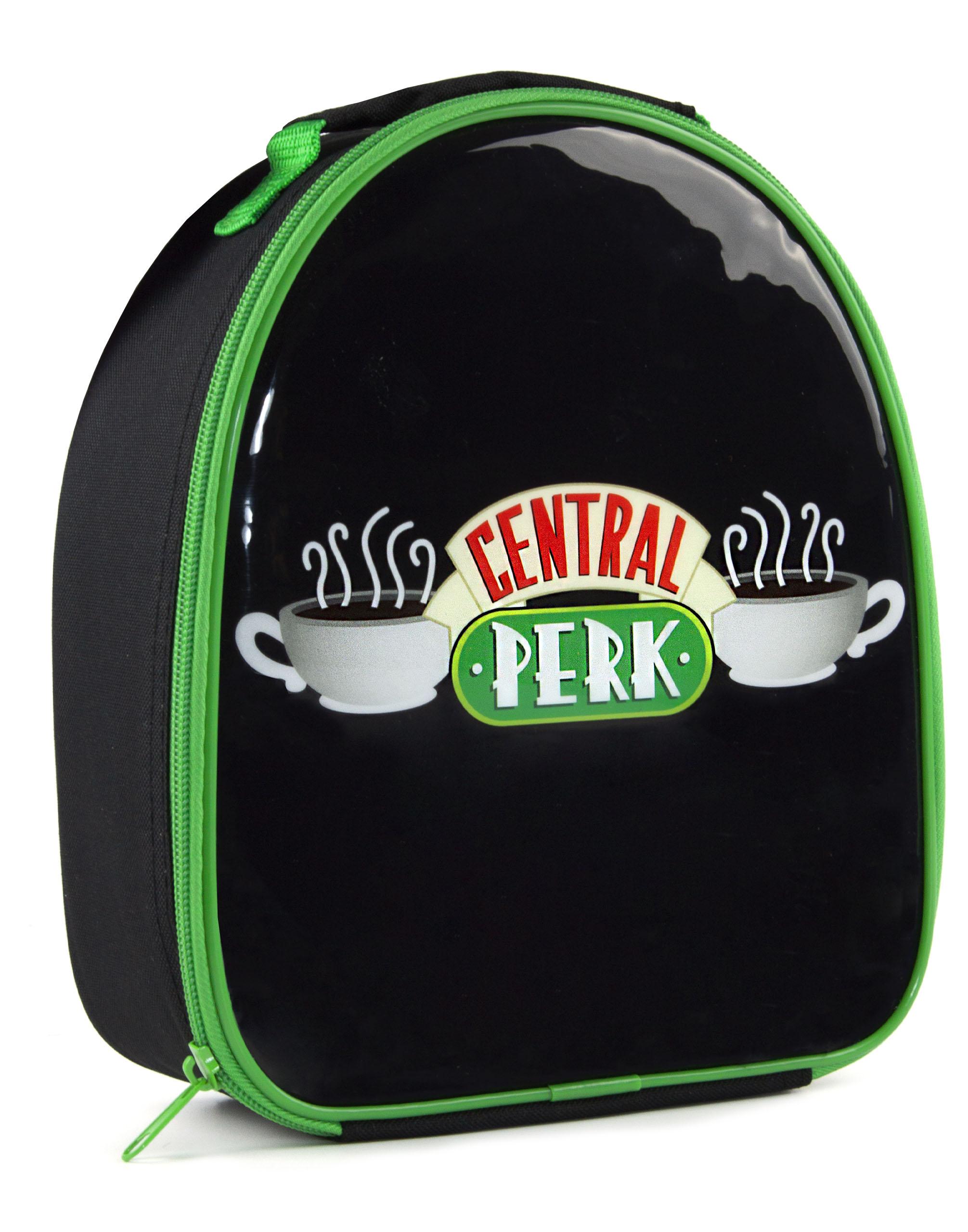 Friends Lunch Bag /& 600ml Sports Bottle Set Central Perk Black
