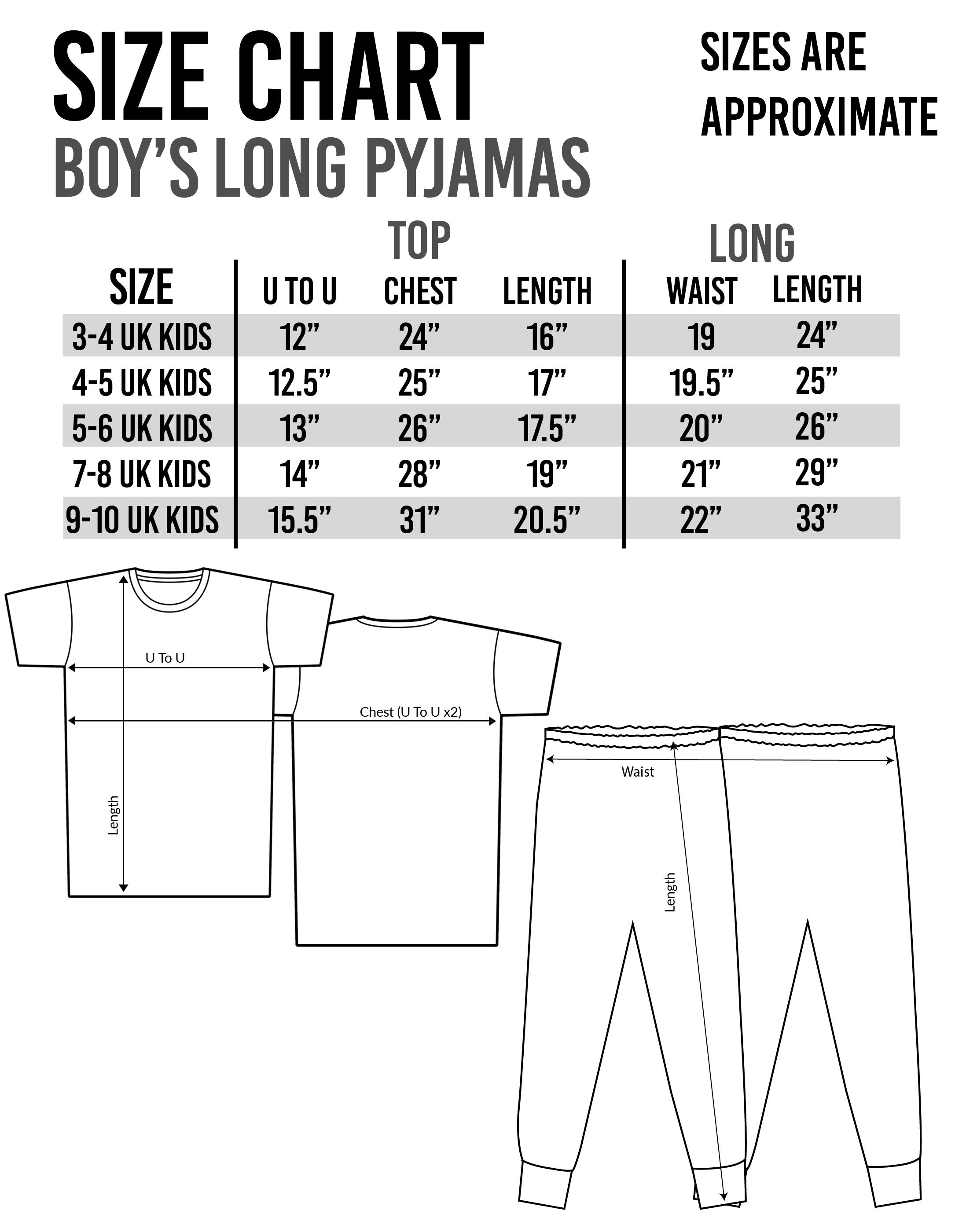 The Grinch Childrens Boys Long Pyjamas Set Nightwear Sleepwear