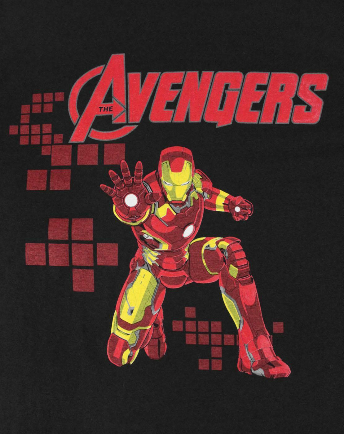 Marvel-Avengers-Iron-Man-Boy-039-s-T-Shirt thumbnail 6