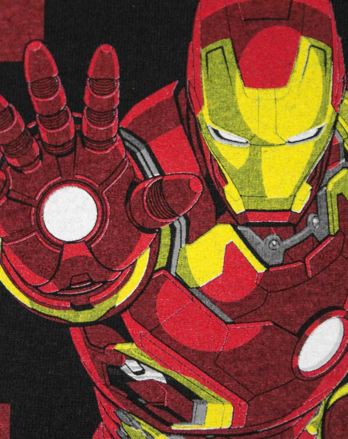 Marvel-Avengers-Iron-Man-Boy-039-s-T-Shirt thumbnail 7