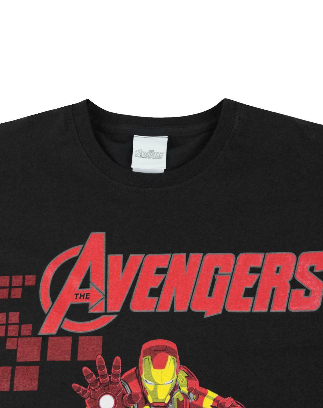 Marvel-Avengers-Iron-Man-Boy-039-s-T-Shirt thumbnail 8