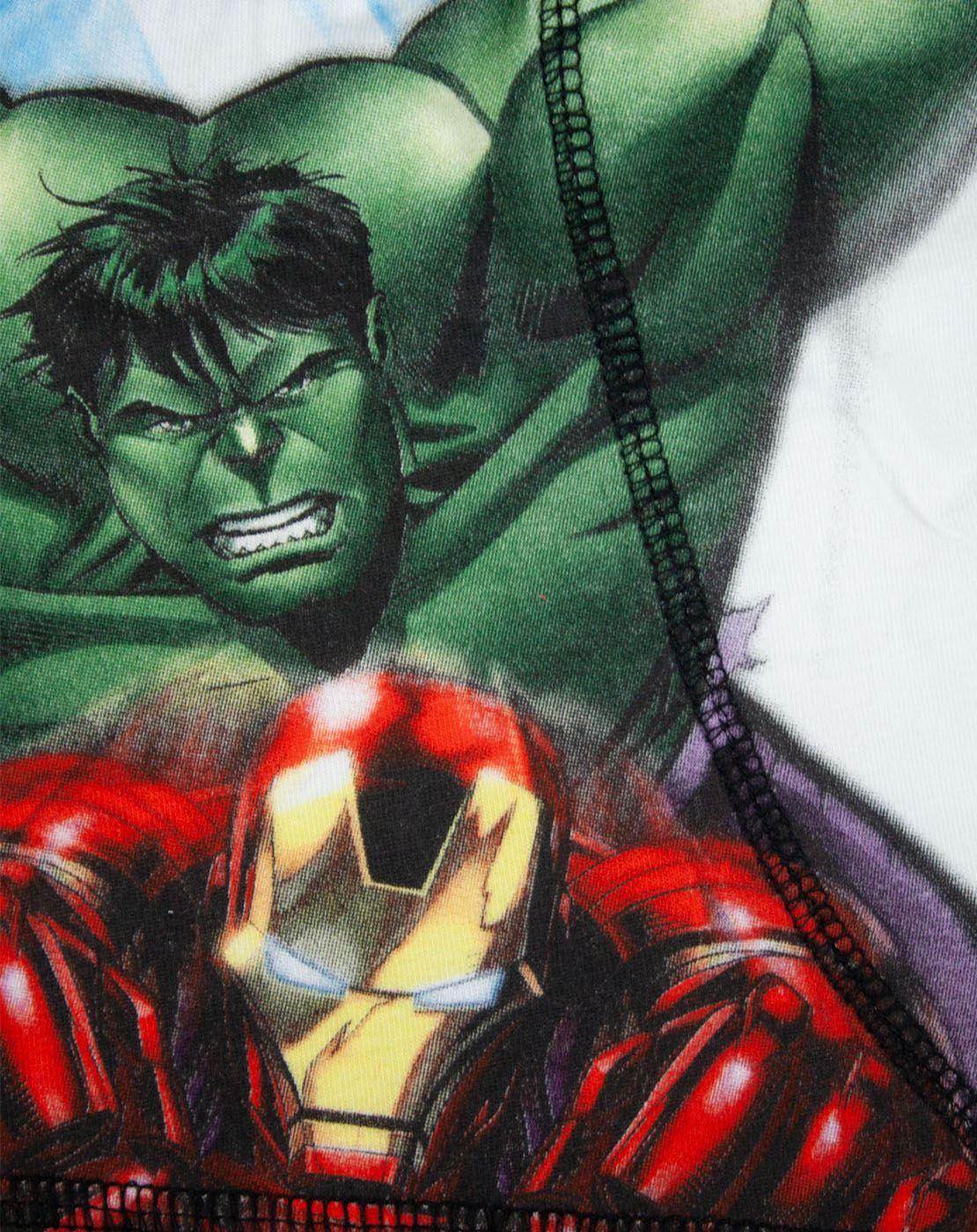 Avengers Assemble Iron Man Boys Boxer Shorts
