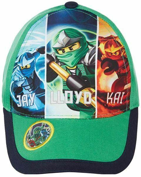 Lego Ninjago Ninja Panels Green Kids Baseball Cap