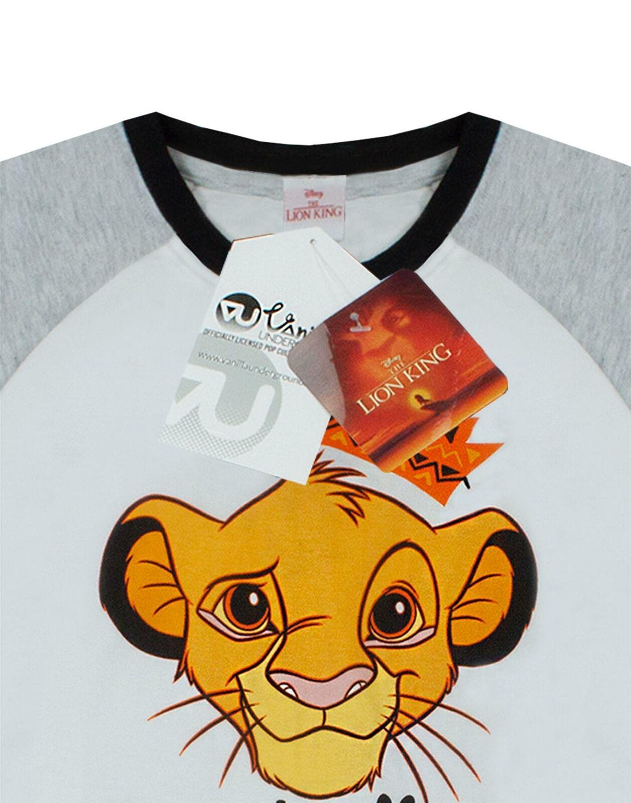 Disney Lion King Simba Ready To Rule Boy/'s Short Pyjamas Sleepwear