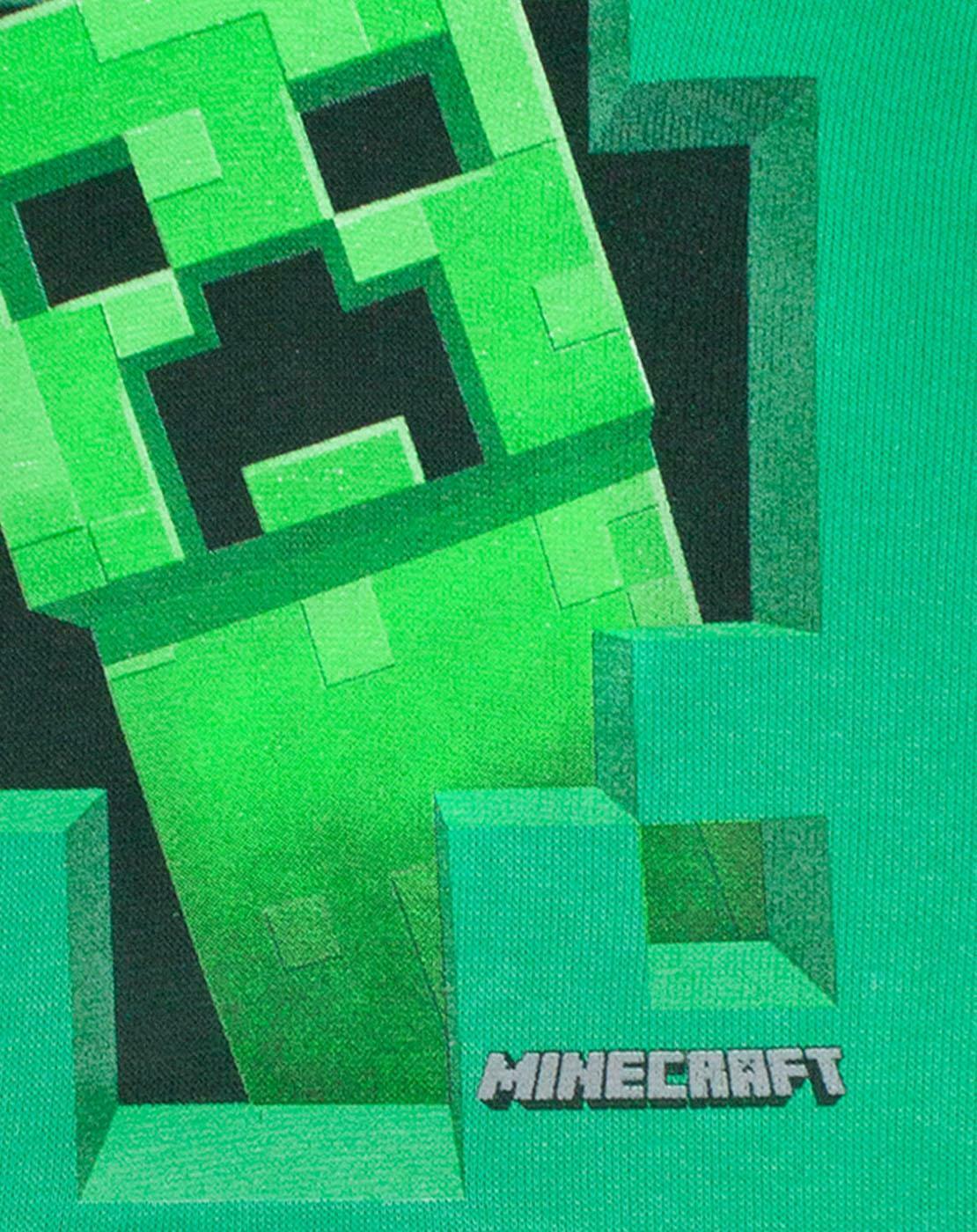 Minecraft-Green-Creeper-Boys-Hoodie-Kids-Long-Sleeve-Hooded-Sweater thumbnail 8