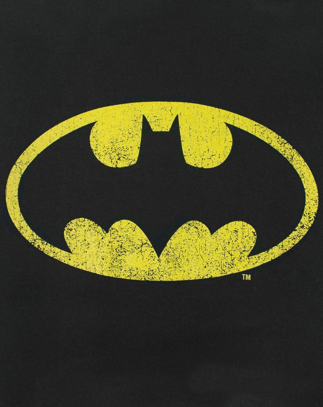Batman-Distressed-Logo-Men-039-s-Adults-Black-T-Shirt-Top thumbnail 11