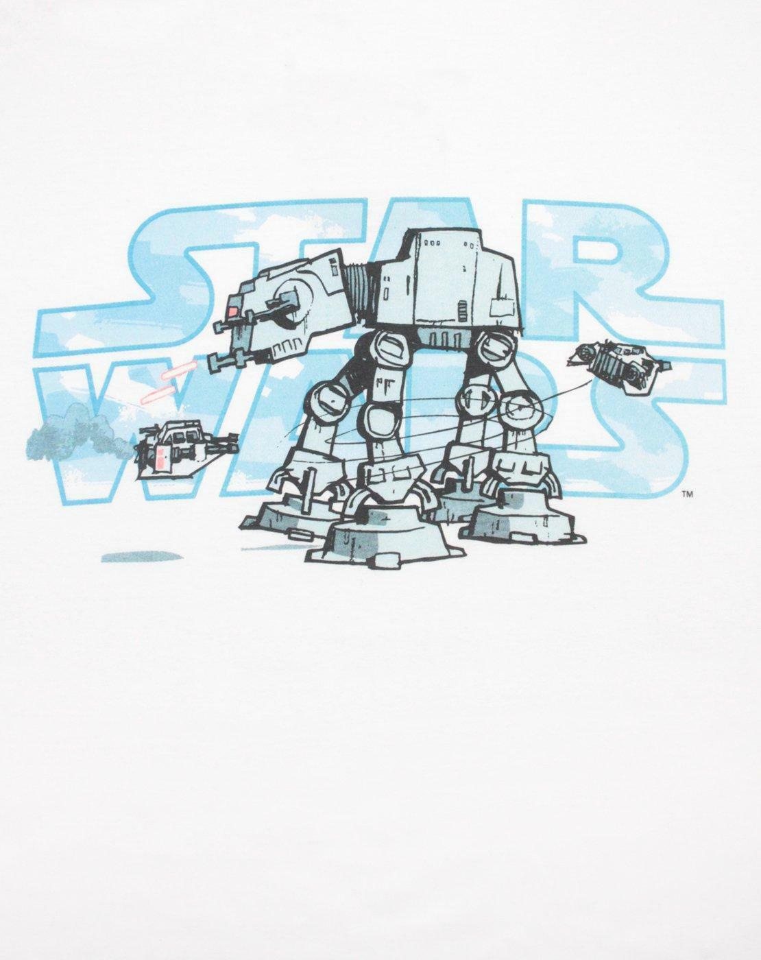 Star-Wars-Empire-Steel-Walker-Men-039-s-T-Shirt thumbnail 6