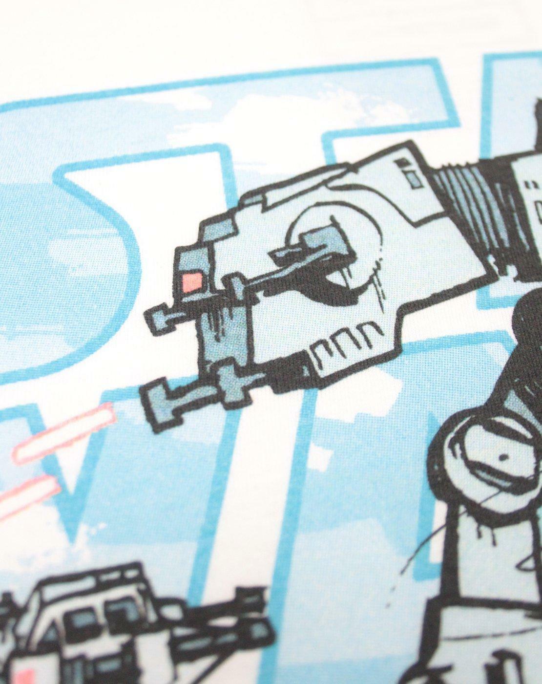 Star-Wars-Empire-Steel-Walker-Men-039-s-T-Shirt thumbnail 7