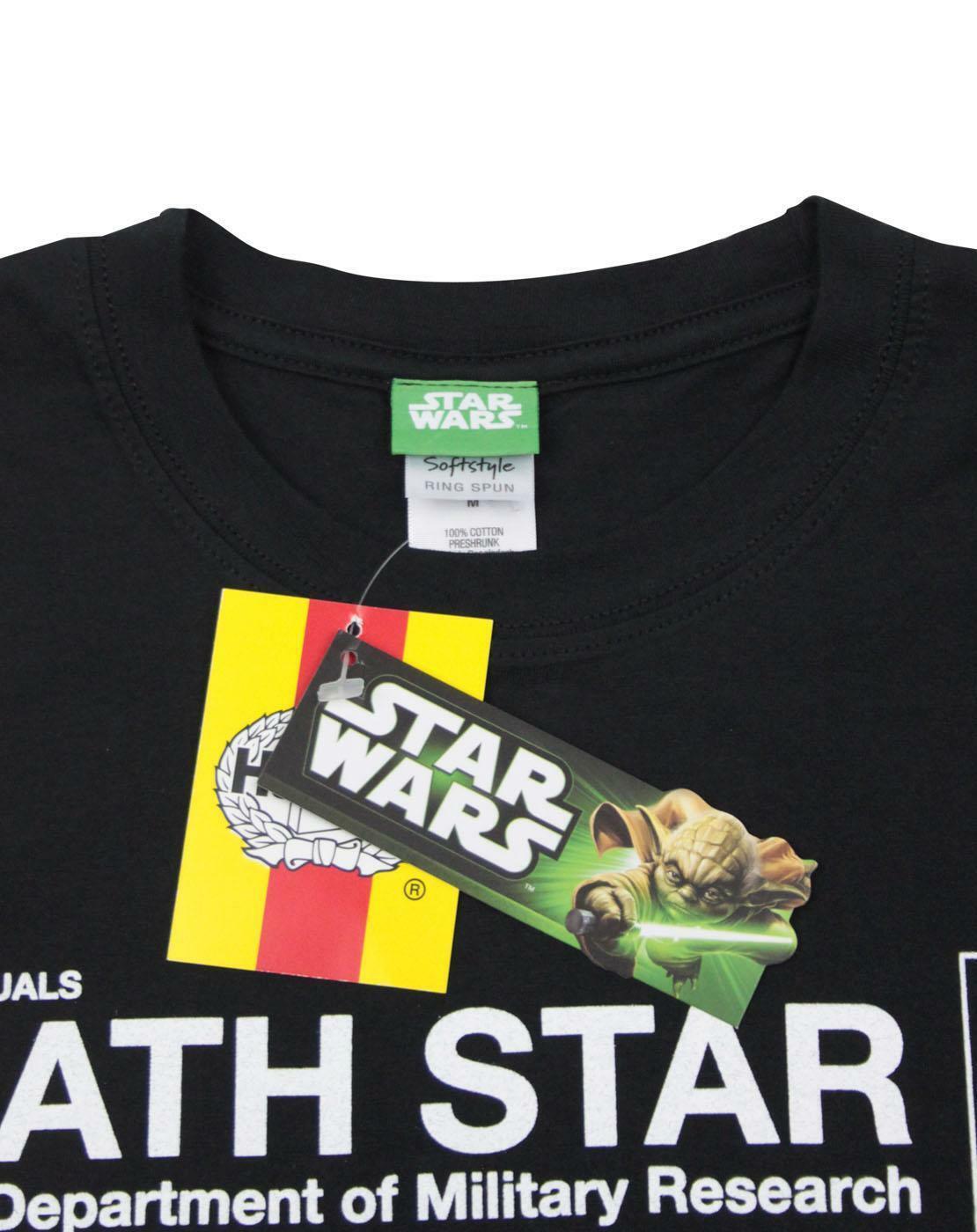 Haynes-Manual-Star-Wars-Death-Star-Men-039-s-T-Shirt thumbnail 8