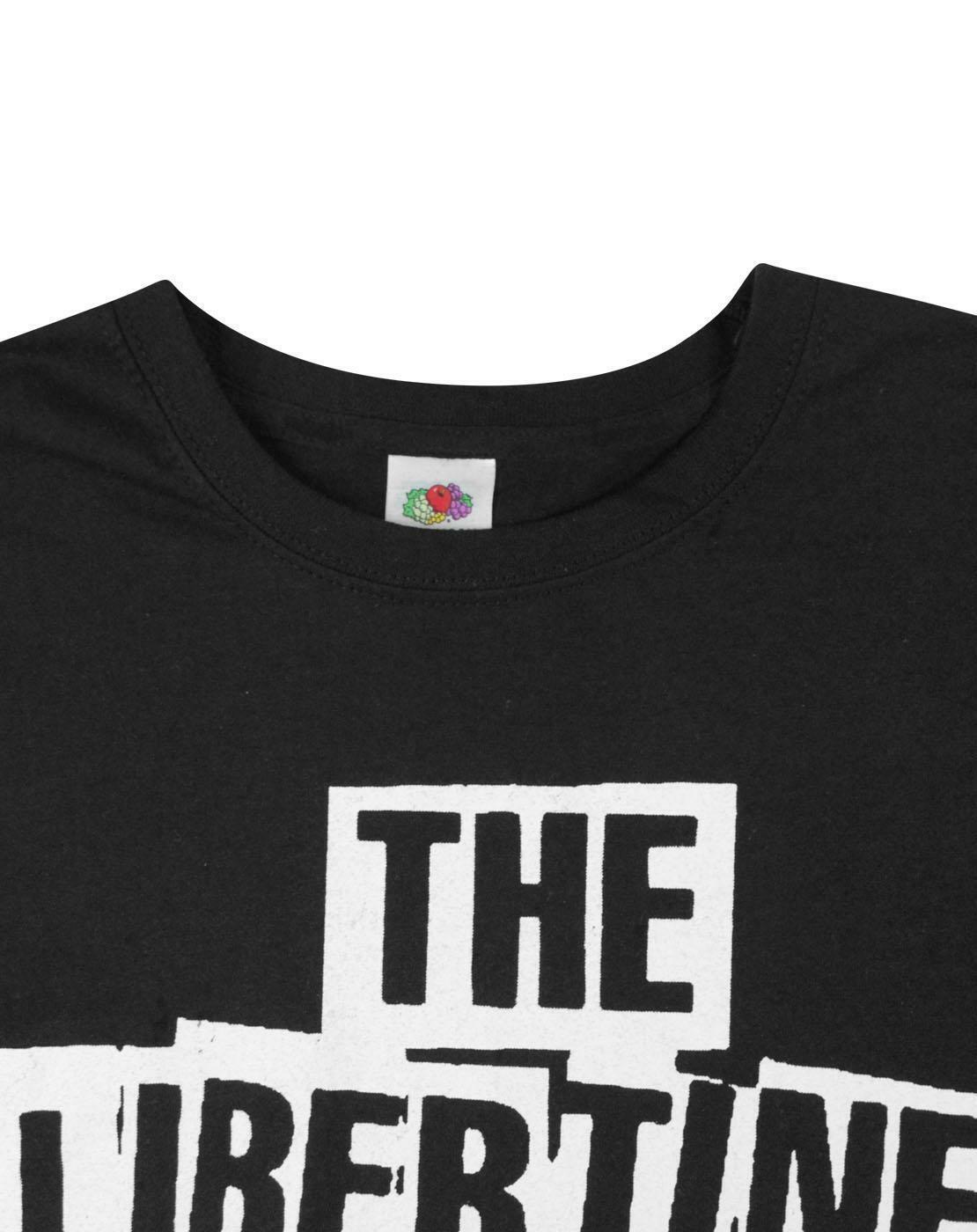 The-Libertines-Logo-Men-039-s-T-Shirt thumbnail 8