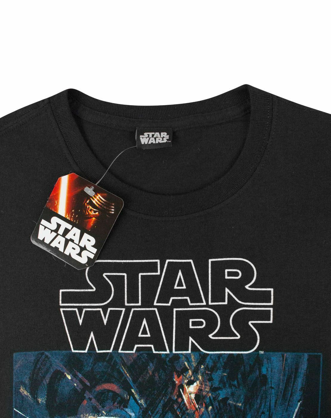 Star-Wars-Death-Star-Men-039-s-T-Shirt thumbnail 7