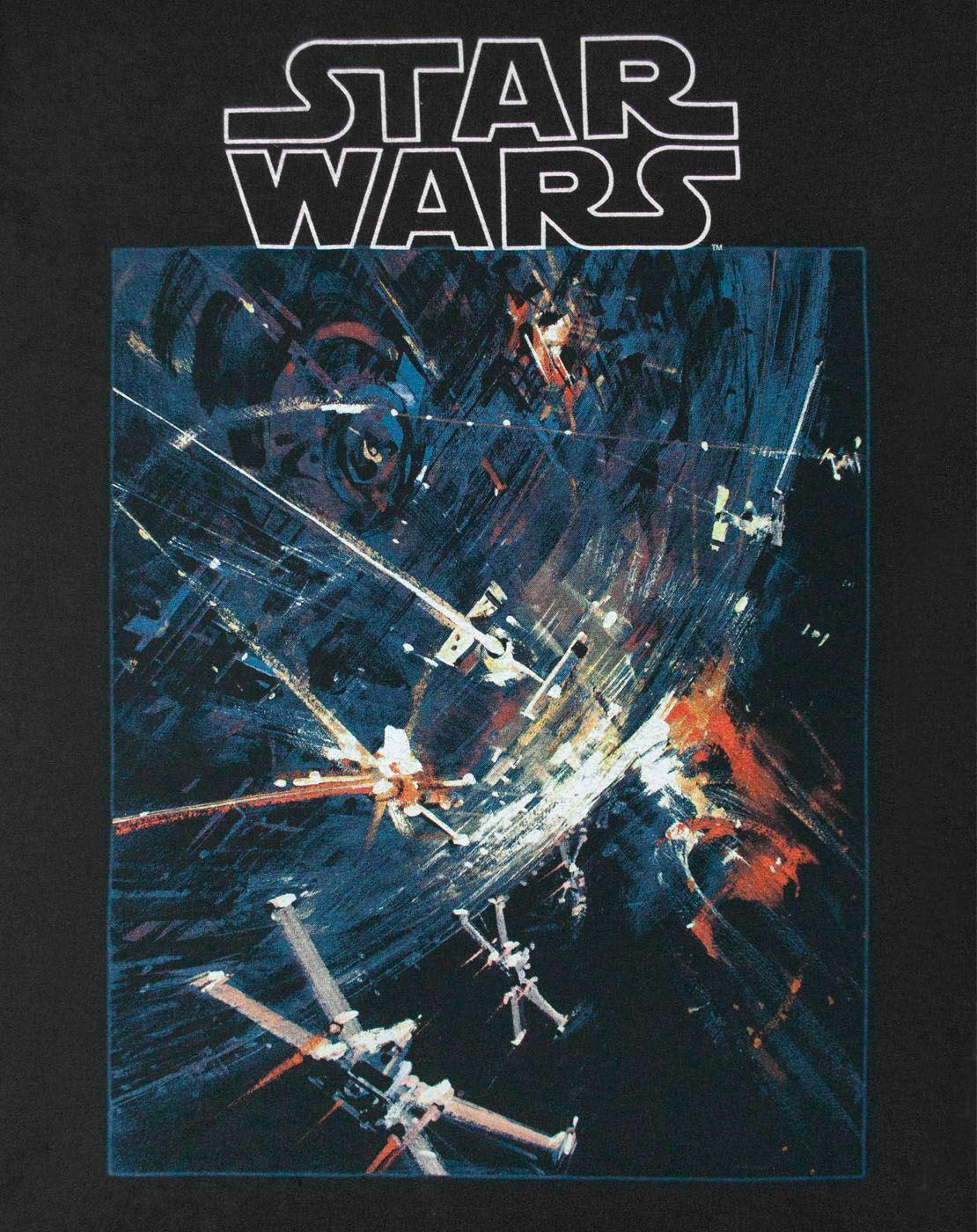 Star-Wars-Death-Star-Men-039-s-T-Shirt thumbnail 6
