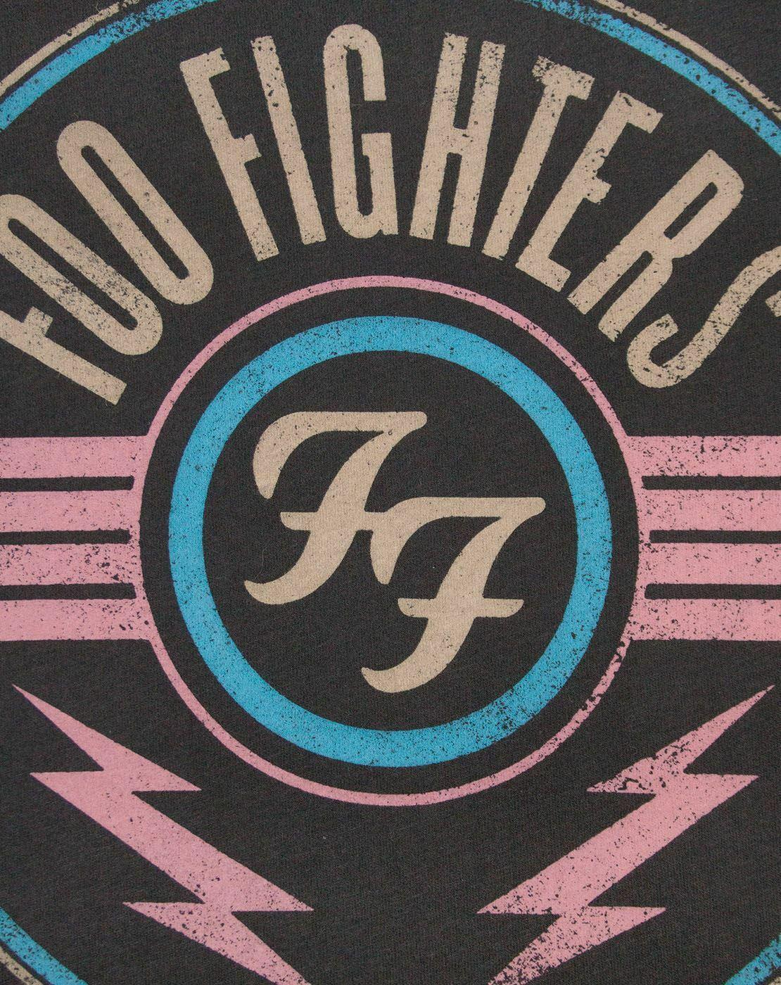 Amplificado-Foo-Fighters-FF-aire-para-hombre-Camiseta miniatura 7