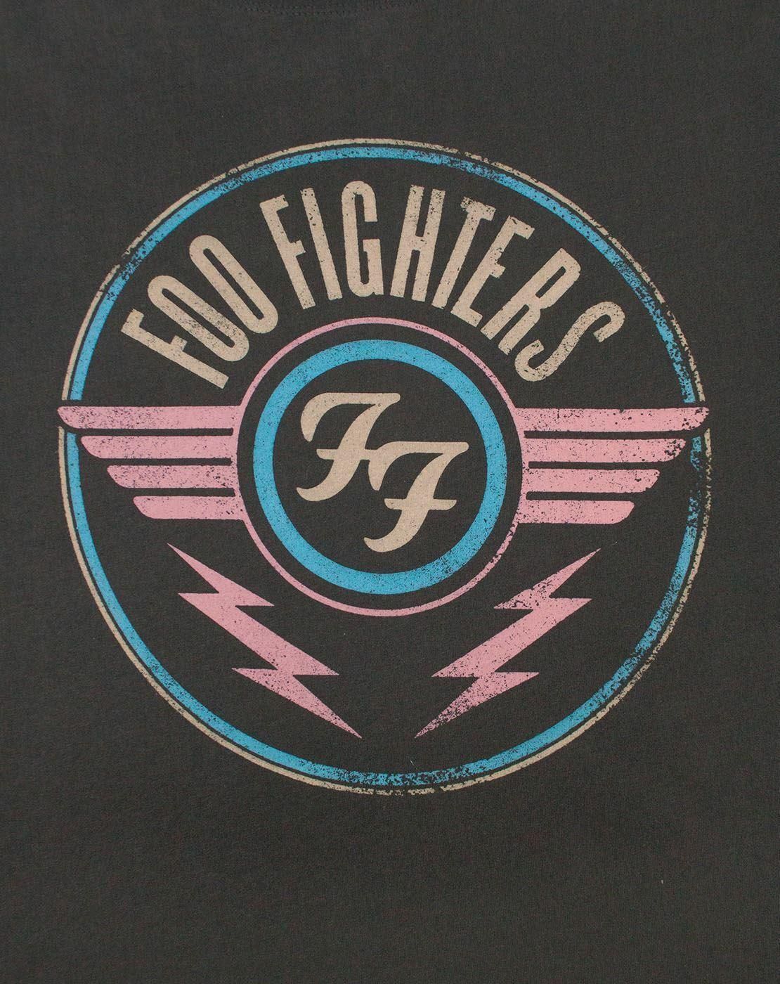 Amplificado-Foo-Fighters-FF-aire-para-hombre-Camiseta miniatura 6