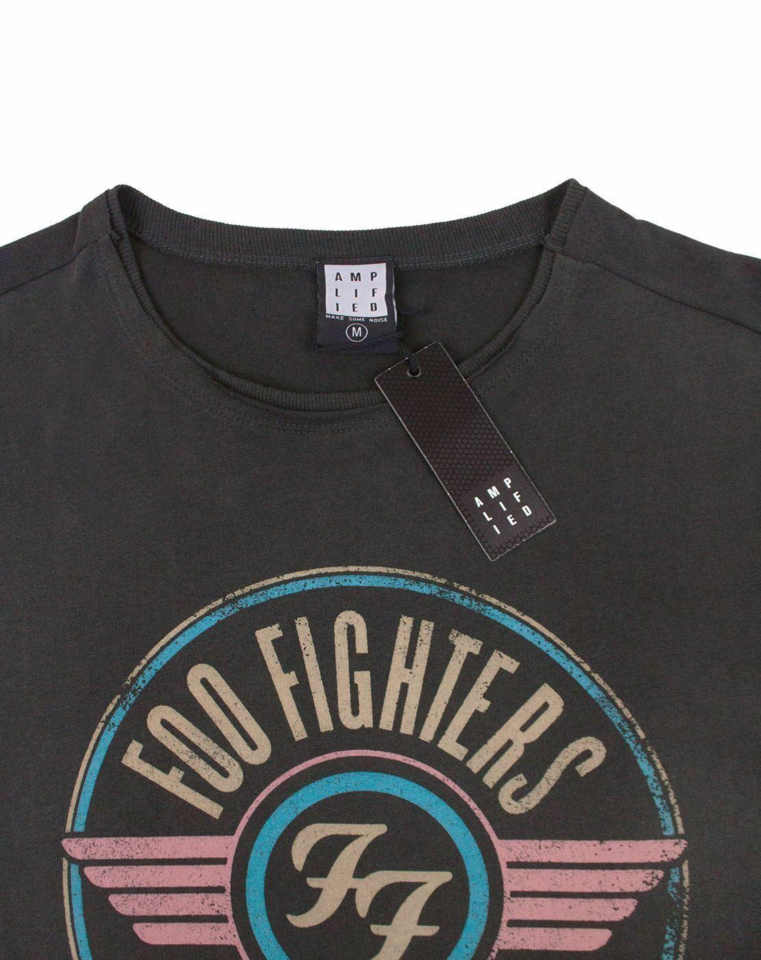 Amplificado-Foo-Fighters-FF-aire-para-hombre-Camiseta miniatura 8
