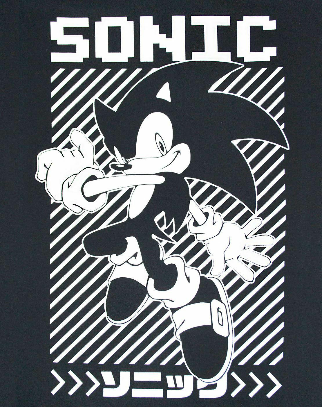 Sonic The Hedgehog Japanese Poster Men S T Shirt Ebay