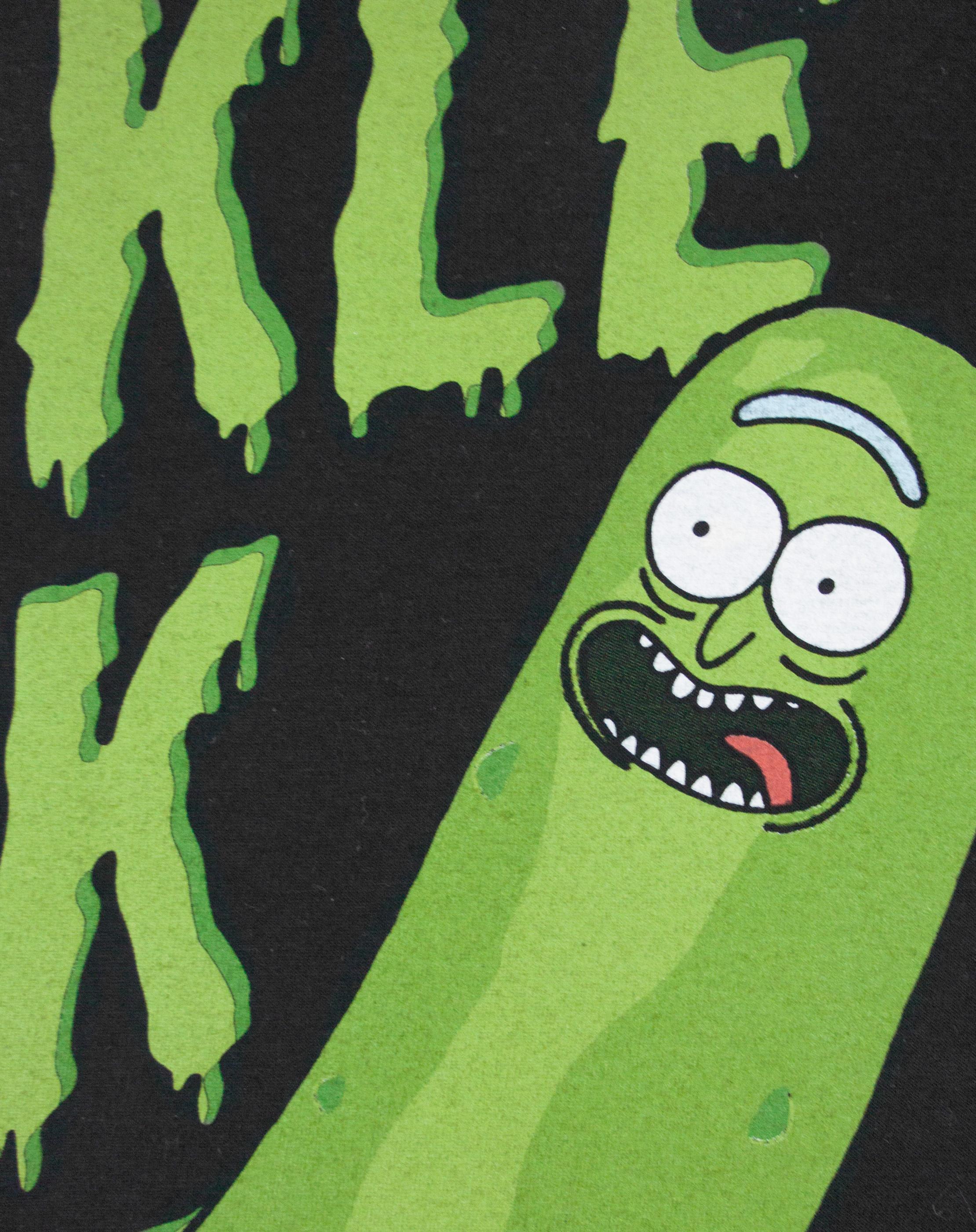 thumbnail 11 - Rick And Morty T-Shirt I'm Pickle Rick Men's Black Short Sleeved Tee