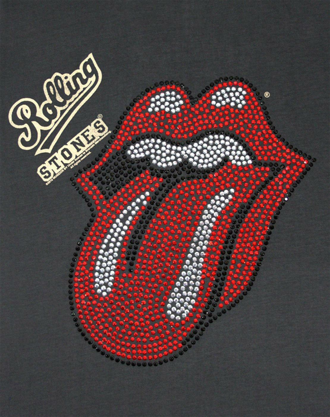 Amplified-Rolling-Stones-Diamante-Lick-Women-039-s-T-Shirt thumbnail 6