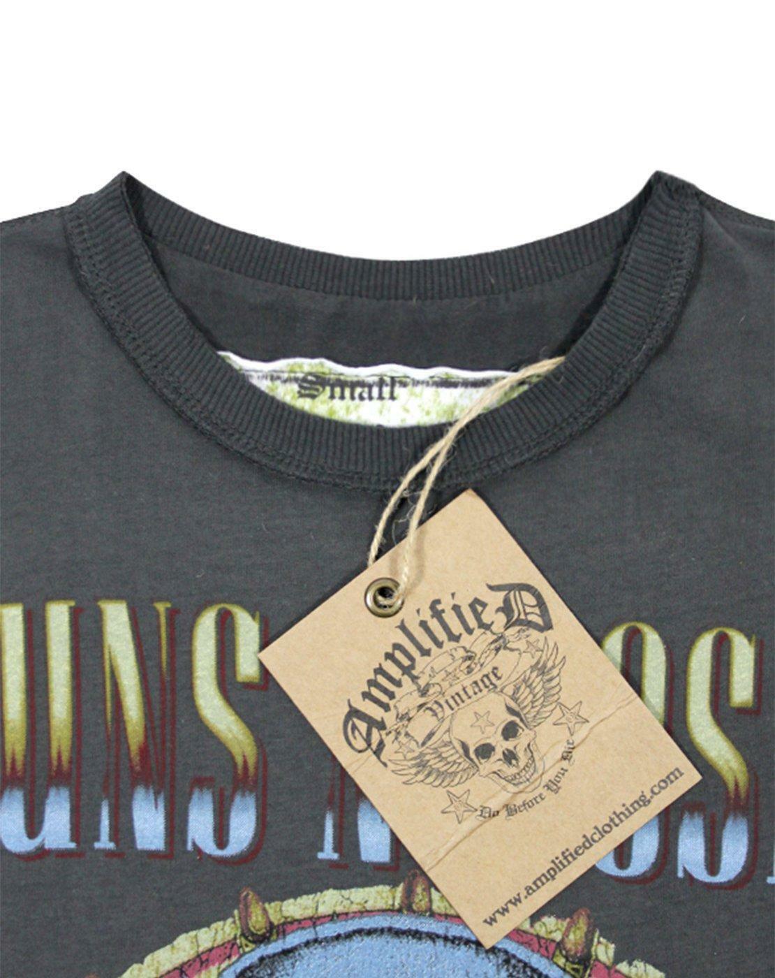 Amplified-Guns-N-Roses-Civil-War-Women-039-s-T-Shirt thumbnail 8