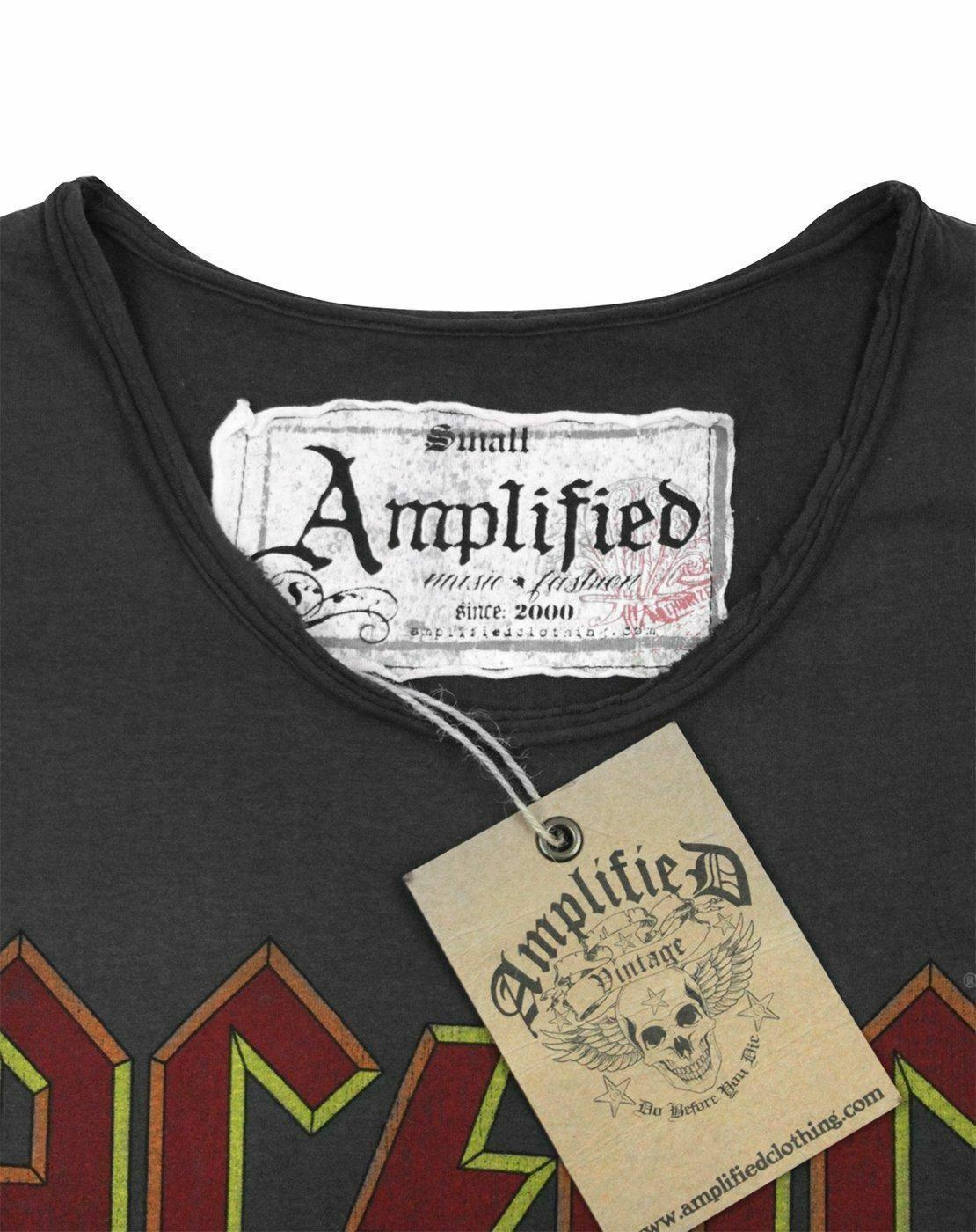 Amplified-AC-DC-Logo-Women-039-s-T-Shirt thumbnail 8