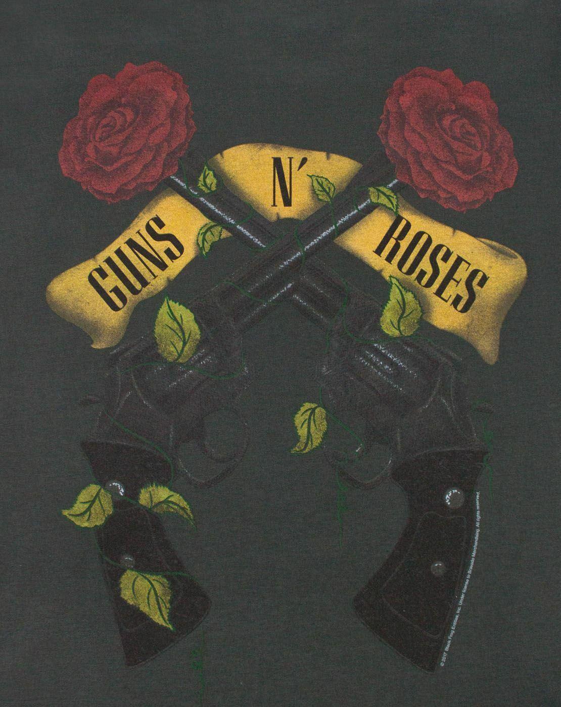 Amplified-Guns-N-Roses-Pistols-Women-039-s-T-Shirt thumbnail 6