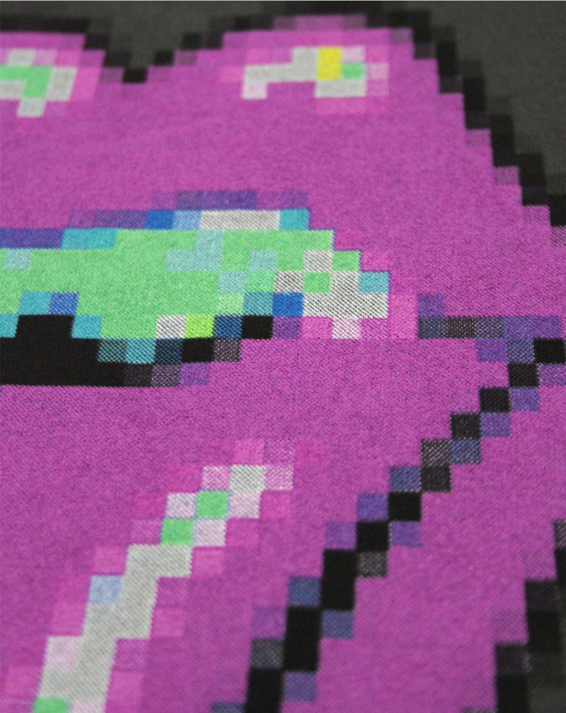 Amplified-Rolling-Stones-Pixel-Lick-Charcoal-Women-039-s-Vest thumbnail 7